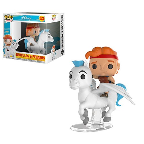 Hercules and Pegasus Pop! Ridez Vinyl Figure-IN STOCK