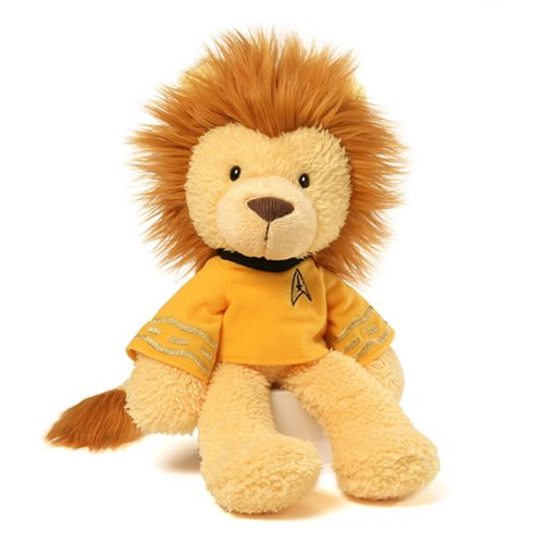 Star Trek Captain Kirk Lion 12-Inch Plush