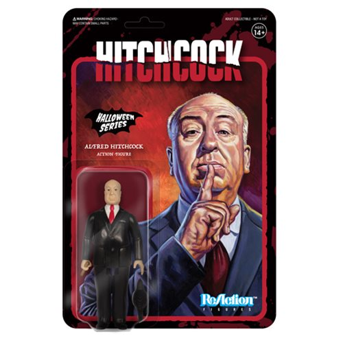 Alfred Hitchcock Reaction Figure-IN STOCK