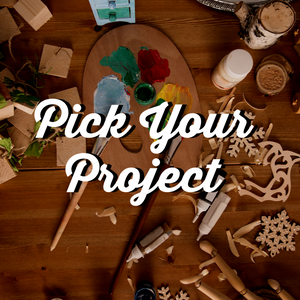 4/18/2018 @ (6:30pm) Pick your Project