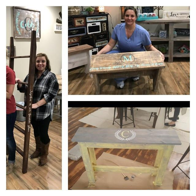 03/10/2018 (6:30pm) Bench, Sofa Table & Stool Workshop (Ocala)