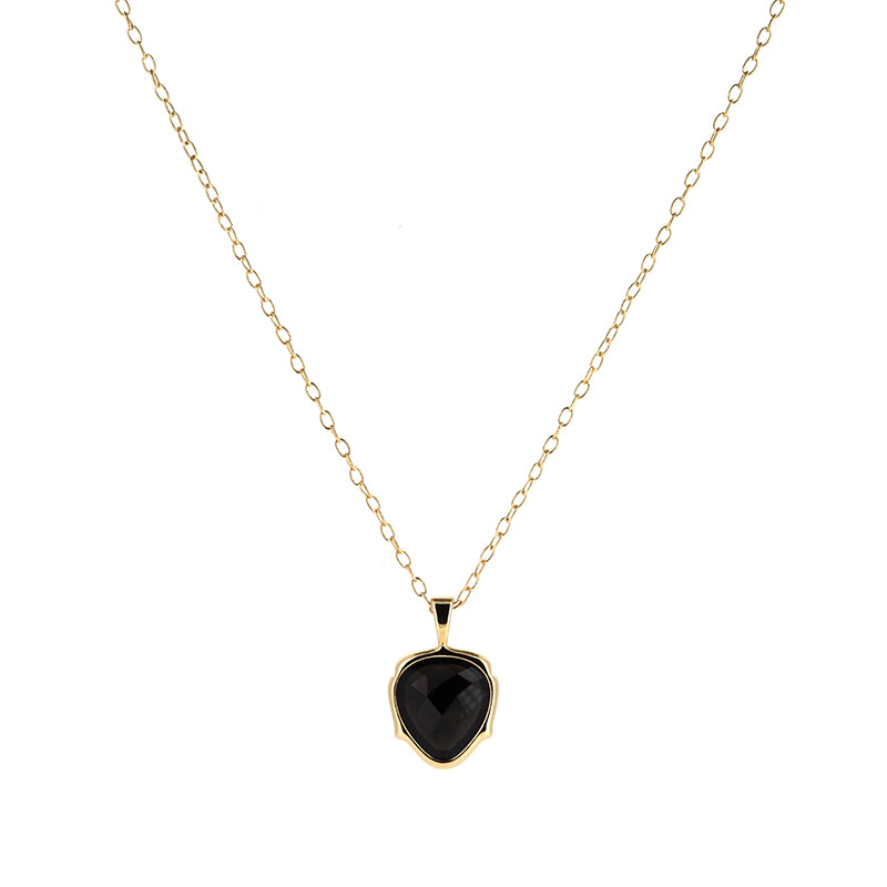 Obsidian Petite Necklace | Lady Shape
