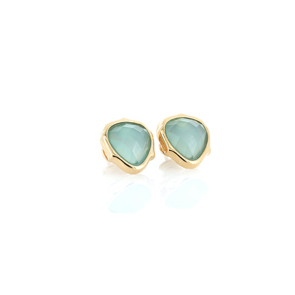 Blue Agate Earrings | Lady Shape