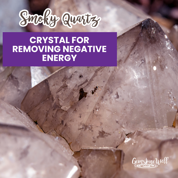 crystal to remove negative energy