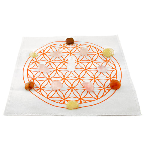 how to set up a health crystal grid kit
