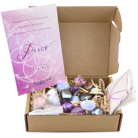 crystal grid kit for peace