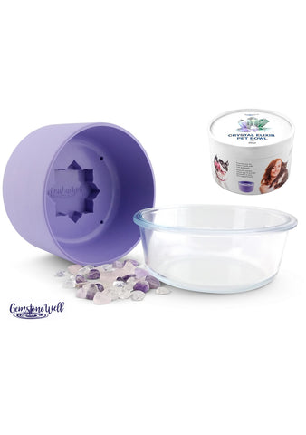 purple pet water bowl