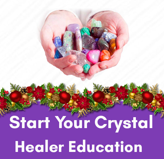 crystal healer education