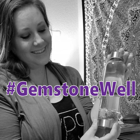 Use #GemstoneWell