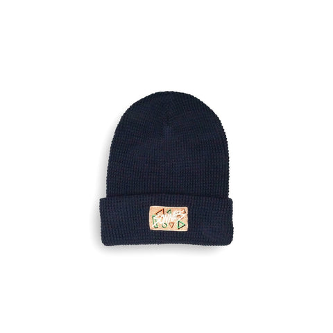 Sonnies Outside Beanie - 80s Navy Boggin Hat