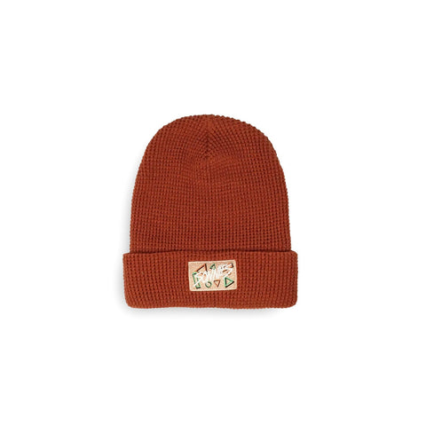 Sonnies Outside Beanie - 80s Red Boggin Hat