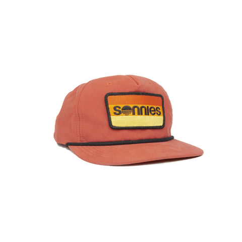 Sonnies Outside - Orange Snapback Grandpa or Dad Hat Cap