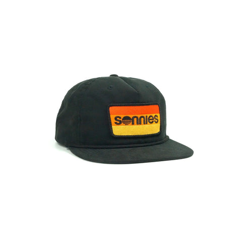 Sonnies Outside - Black Snapback Grandpa or Dad Hat Cap