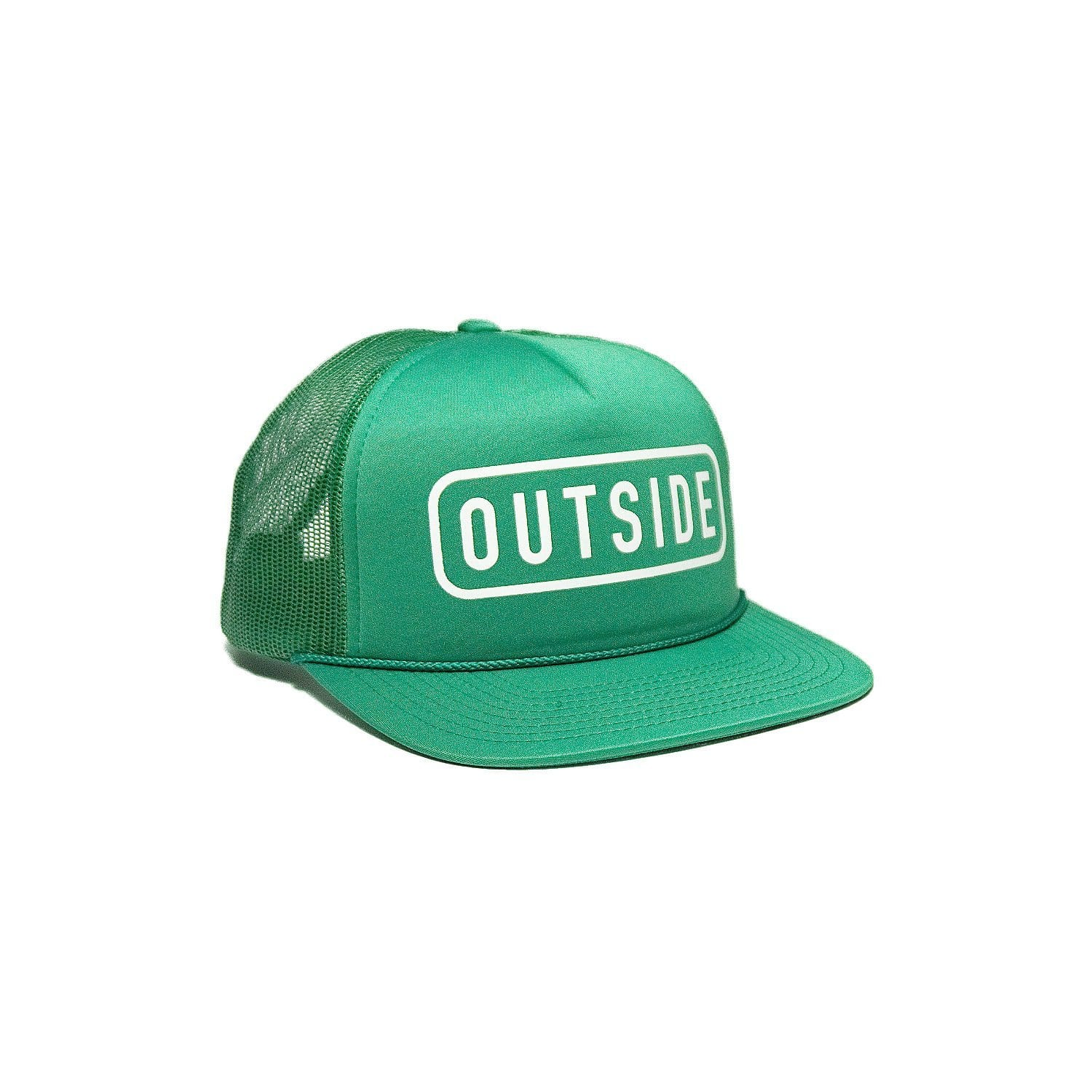 Sonnies Outside Green Snapback Trucker Hat Cap Outside