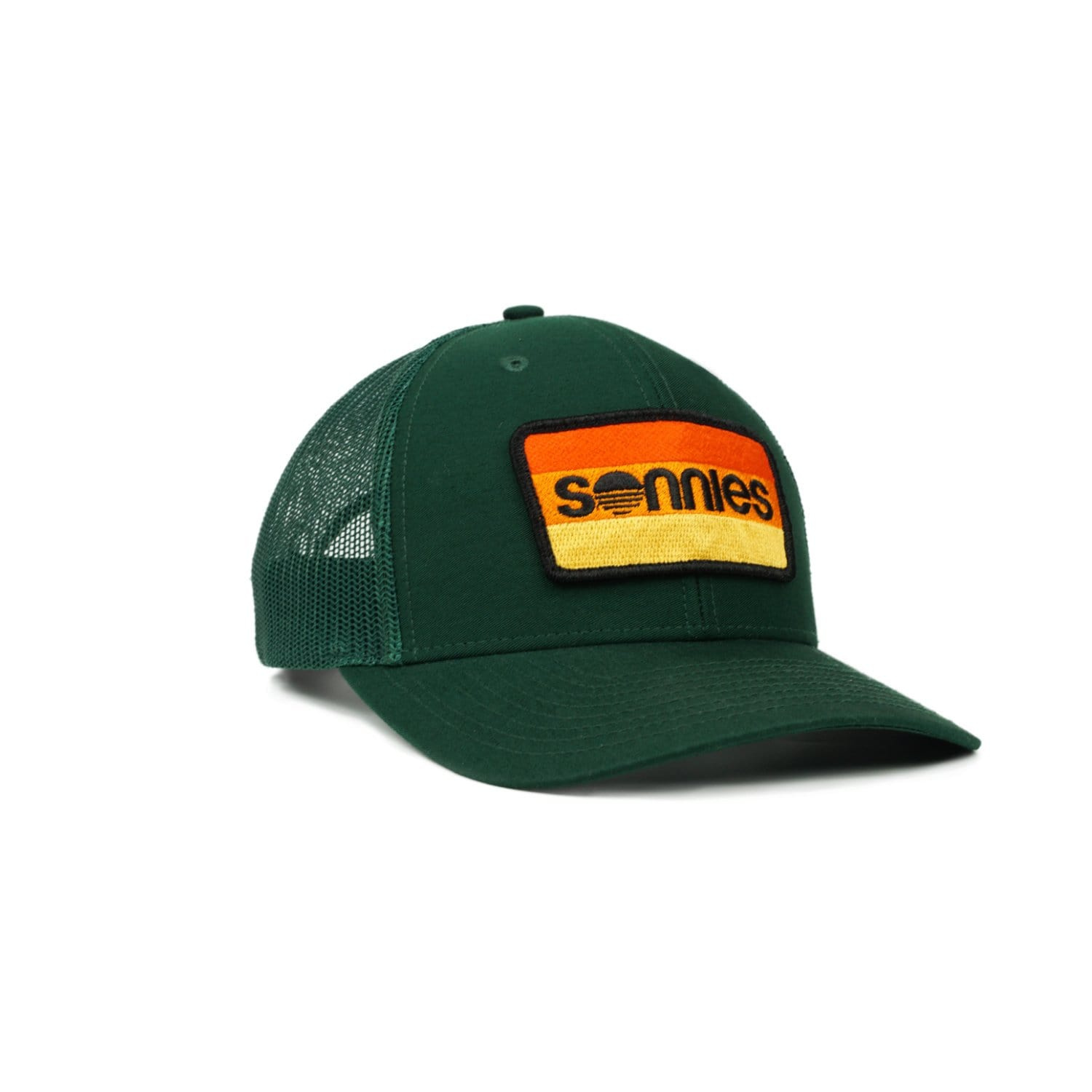 Sonnies Outside - Green Snapback Trucker Hat or Baseball Cap