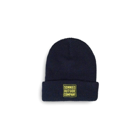 Sonnies Outside - Navy Blue Beanie Boggin Cap