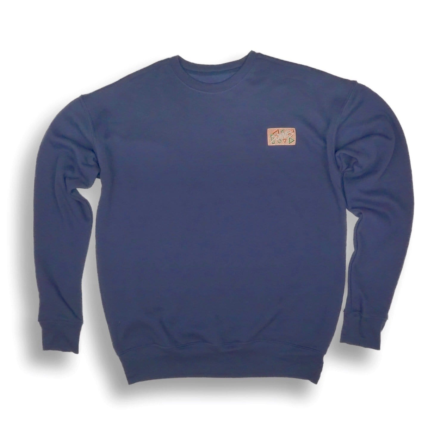 Sonnies Outside - Navy Blue Hiking Clothes Comfortable Soft Sweatshirt