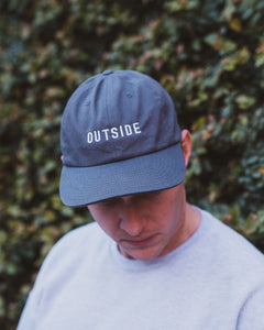 Sonnies Outside - Navy Blue Outside Dad Hat Baseball Cap Model View