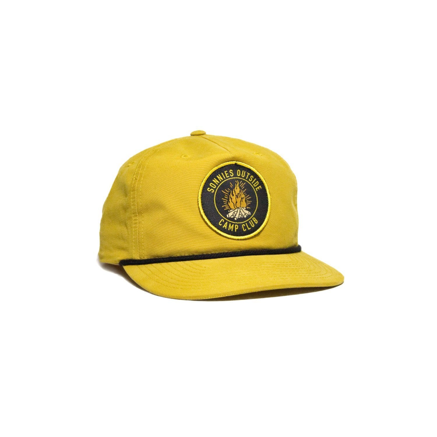 Sonnies Outside Yellow Snapback Roper Hat Cap