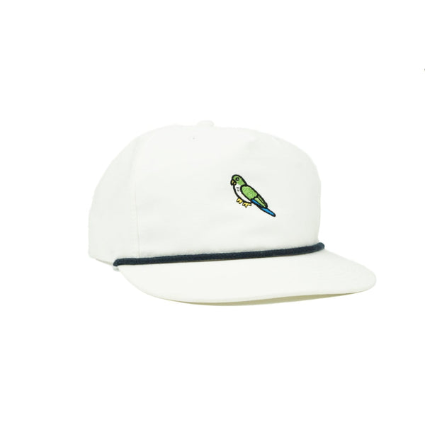 Sonnies Outside - White Snapback Grandpa Dad Hat Cap