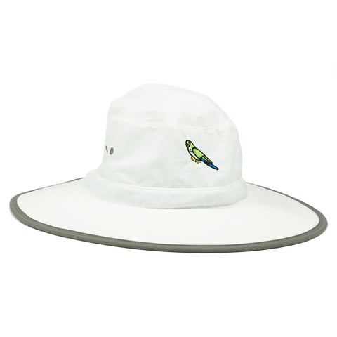 Sonnies Outside - White Sun Hat Cap for Rafting Camping Hiking