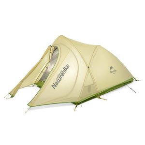 Cirrus Ultralight 2 Person 20D Nylon with Silicon Coated Camping Tent with free Mat