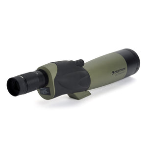 Straight Refractor Spotting Scope 20x-60x Zoom Multi-Coated for Bird Watching Hunting And Travel