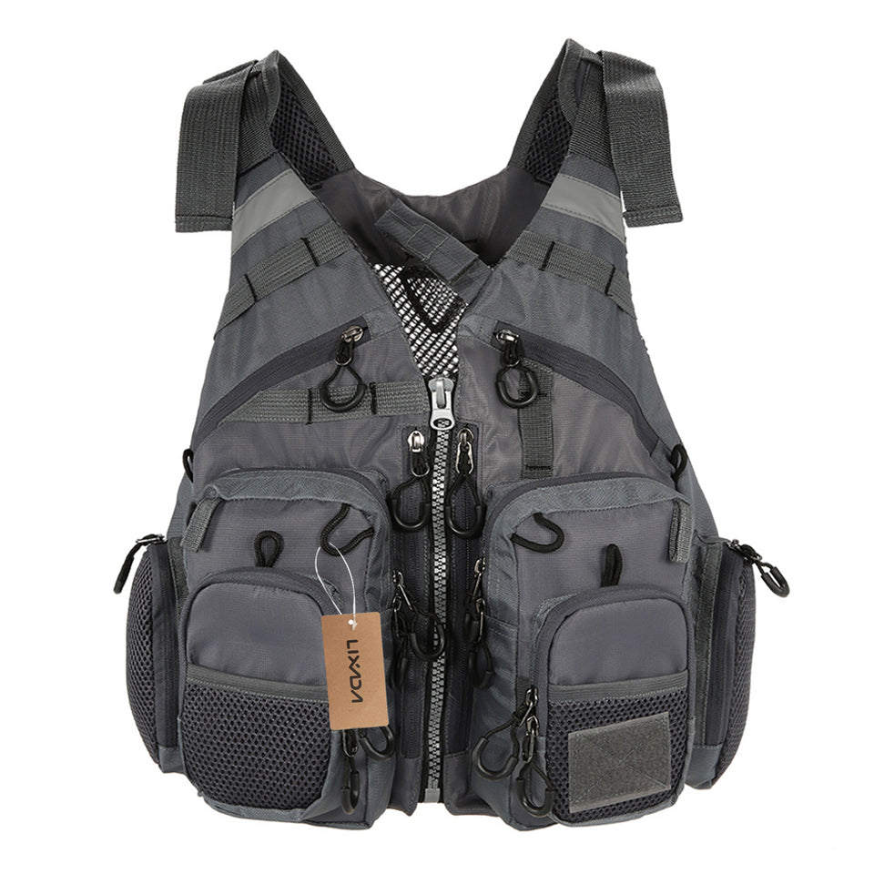 Safety Survival Fishing Life Vest Jacket For Adult Swimming Hunting Outdoor