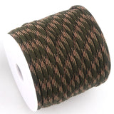 100FT Parachute Spools Paracord Rope Lanyard Cord Mil Spec Type III 7 Strand