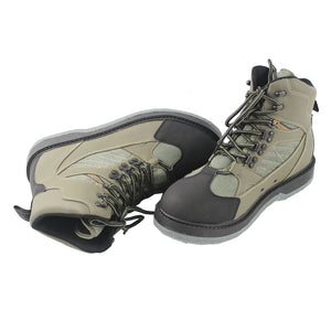 Men's Fishing Hunting Wading Breathable Waterproof Outdoor Anti-slip Boots