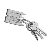 19 in 1 Stainless Steel Multitool Folding Pliers Screwdriver Keychain Outdoor