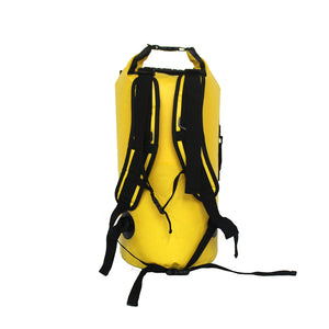 40L Outdoor River Trekking Double Shoulder Straps Water Pack Swimming Backpack Drifting Kayaking Waterproof Bag