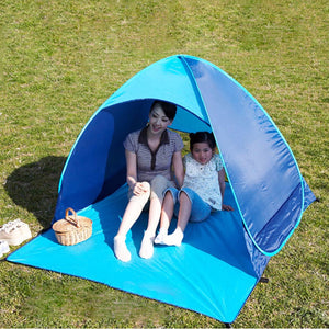 Camping Hiking Beach UV Protection Waterproof Portable Pop Up Fully Automatic Tent