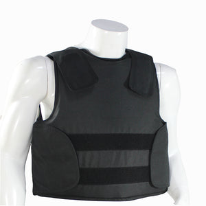 Concealable Kevlar Bulletproof Vest with Carrying Bag Police Body Armor NIJ IIIA Protection Level