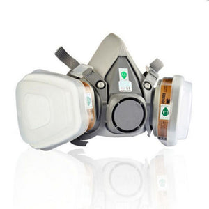 9 in 1 Suit Half Face Respirator For Painting Spraying Dust 3M 6200 N95 PM2.5 Gas Mask