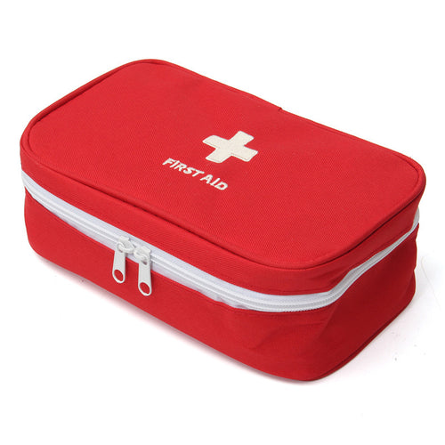 Outdoor Survival Emergency Travel Camping Portable Empty Emergency Medical First Aid Medicine Bag