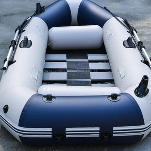 3 Person PVC Inflatables Boat Professional Fishing Rowing Boat Inflatable Laminated Wear-resistant Boat Rubber With Oars Pumps