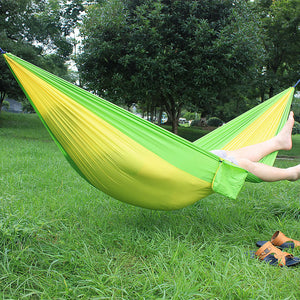 300*200cm 2 People Portable Camping Survival Hunting Leisure Travel Parachute Hammocks