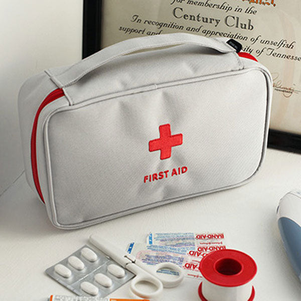 Large Medicine Bag Travel Outdoors Camping Pill Storage Bag First Aid Emergency Case Survival Kit