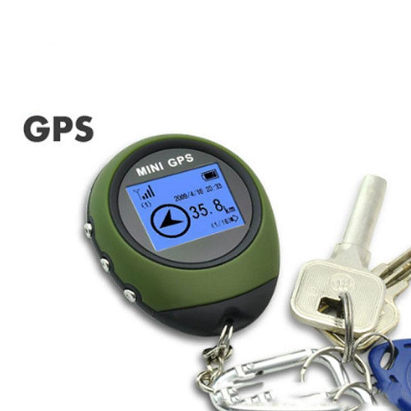 GPS Receiver & Location Handheld Keychain USB Rechargeable Real Time Tracking Device For Car Travel Outdoor
