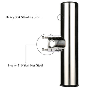 Stainless Steel Fishing Rod Tools And Accessories Boat Rod Holder