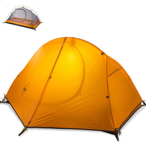 1 Person Outdoor Trekking Hiking Ultralight Camping Waterproof Single Tent