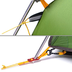 Outdoor Camping Ultralight 2 Person Hexagonal Waterproof Tent