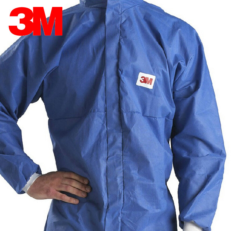 3M 4532+ Hazard Protective Suit Breathable Clothing Anti-particulate Anti-dust Anti-liquid Protective