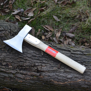 Hand-forged Steel Tomahawk Axe Outdoor Camping Hunting Woodworking