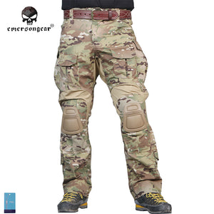 Men Military Camo Hunting Combat Tactical Pants Emersongear G3 Multicam Training Trousers