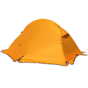 Cycling Backpack Tent Ultralight 20D/210T For 1 Person