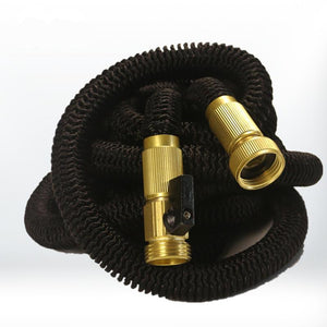 Expandable Garden Hose With High Pressure Brass Connectors