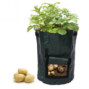 Vegetable Planting Grow Bag for Outdoor Hanging Open Vertical Garden