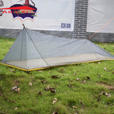 260g Ultralight Outdoor Camping Inner Summer 1 Single Person Mesh Tent Body With Inner Vents & Mosquito Net